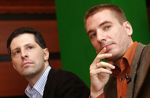 Their political views are irreconcilableAndrás Schiffer and Benedek Jávor