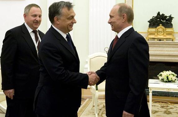 Vladimir Putin and Viktor OrbánMTI / Photo  Szilárd Koszticsák