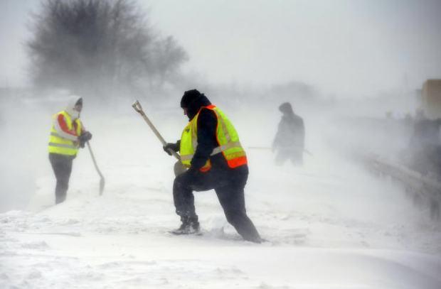 Snow storm / Reuters