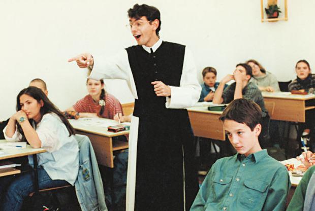 Religion class / Népszava Archív