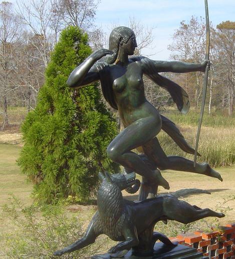 Goddess Diana hunting / Wikipedia