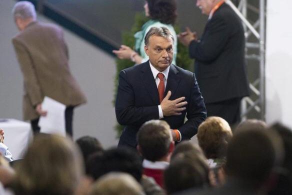 Viktor Orbán is listening to his heart / MTI/ Szilárd Kosztics