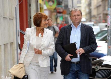 Ildikó Lendvai and István Hiller / MTI Photo: Attila Manek