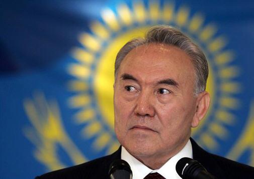 Nursultan Nazarbayev, dictator of Kazakhstan
