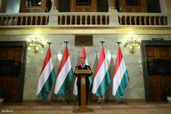 As you see, PM Orban himself is not at all averse to flaunting some eagles of his own.
