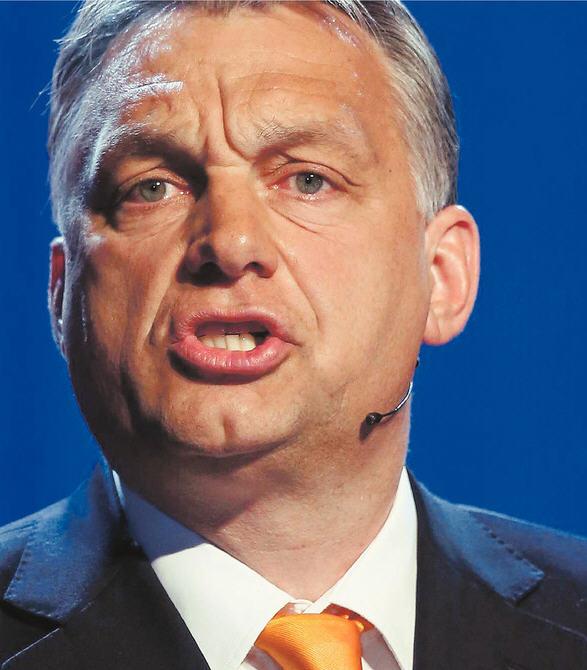 "Népszava's headline: ""He already speaks as a dictator / Getty Images"