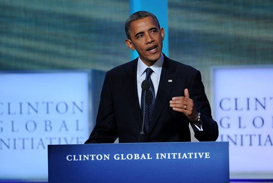 Obama Clinton Global Initiative