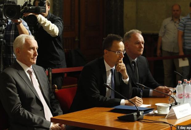 Szijjártó with a more diplomatic demeanor at his hearing yesterday