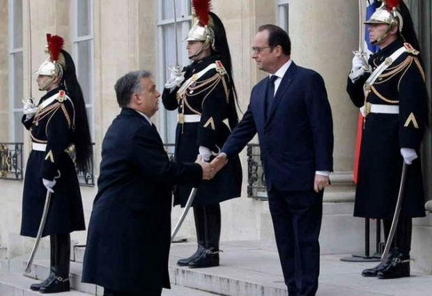 Hollande and Orban