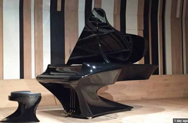 The Boganyi piano